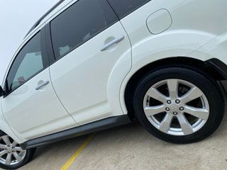 2011 Mitsubishi Outlander ZH MY11 XLS White 6 Speed Constant Variable Wagon