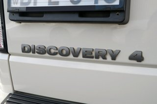 2010 Land Rover Discovery 4 Series 4 10MY TdV6 CommandShift White 6 Speed Sports Automatic Wagon