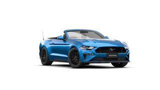 2021 Ford Mustang FN 2021.50MY GT Velocity Blue 10 Speed Sports Automatic Convertible.