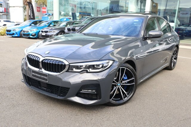 Used BMW 330i F30 LCI M Sport Brookvale, 2020 BMW 330i F30 LCI M Sport Dravit Grey Metallic 8 Speed Auto Steptronic Sport Sedan