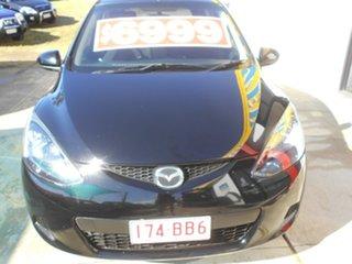 2007 Mazda 2 DY10Y2 Neo Black 5 Speed Manual Hatchback.