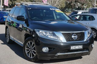 2016 Nissan Pathfinder R52 MY16 ST-L X-tronic 4WD Black 1 Speed Constant Variable Wagon.