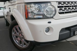 2010 Land Rover Discovery 4 Series 4 10MY TdV6 CommandShift White 6 Speed Sports Automatic Wagon.
