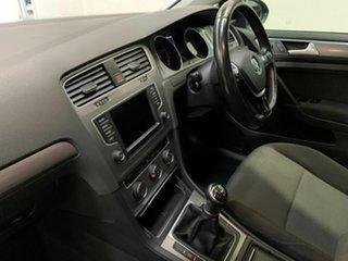 2016 Volkswagen Golf VII MY16 92TSI Trendline Black 6 Speed Manual Hatchback