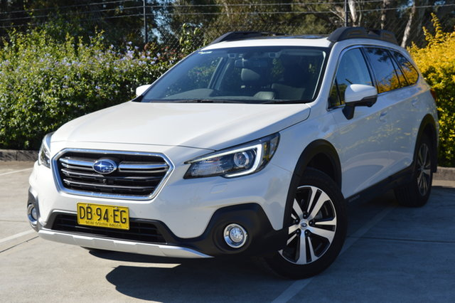 Used Subaru Outback B6A MY18 2.5i CVT AWD Premium Maitland, 2018 Subaru Outback B6A MY18 2.5i CVT AWD Premium White 7 Speed Constant Variable Wagon