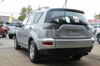 2010 Mitsubishi Outlander ZH MY11 LS (FWD) Silver 5 Speed Manual Wagon