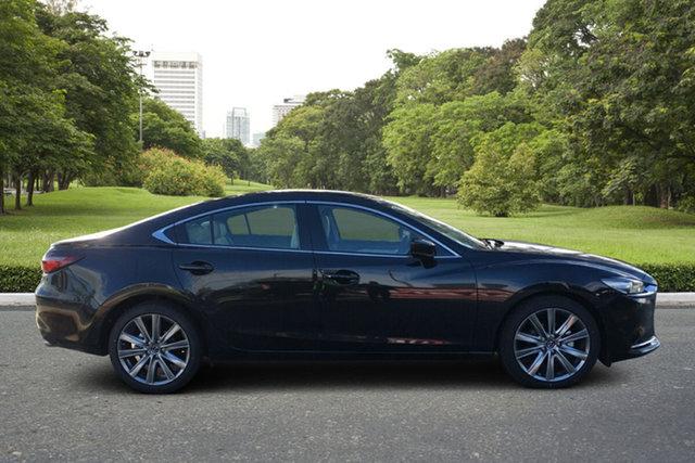 Demo Mazda 6 GL1033 Atenza SKYACTIV-Drive Paradise, 2021 Mazda 6 GL1033 Atenza SKYACTIV-Drive Jet Black 6 Speed Sports Automatic Sedan