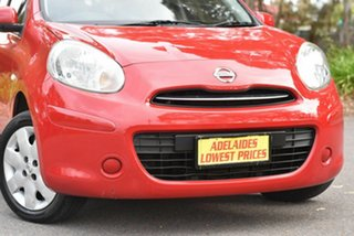 2011 Nissan Micra K13 ST-L Red 4 Speed Automatic Hatchback