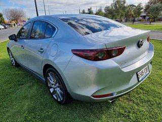2019 Mazda 3 BP2S7A G20 SKYACTIV-Drive Evolve Silver 6 Speed Sports Automatic Sedan