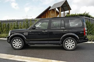 2016 Land Rover Discovery Series 4 L319 MY16.5 TDV6 Black 8 Speed Sports Automatic Wagon