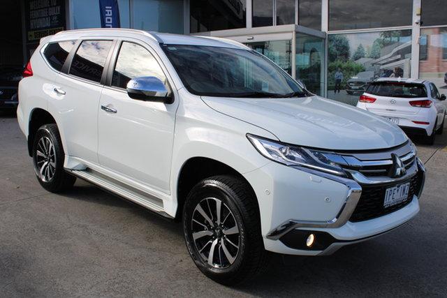 Used Mitsubishi Pajero Sport QE MY19 Exceed Ferntree Gully, 2018 Mitsubishi Pajero Sport QE MY19 Exceed White 8 Speed Sports Automatic Wagon