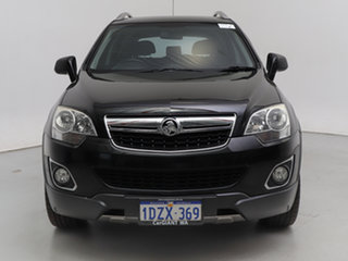 2012 Holden Captiva CG MY12 5 (FWD) Black 6 Speed Manual Wagon.