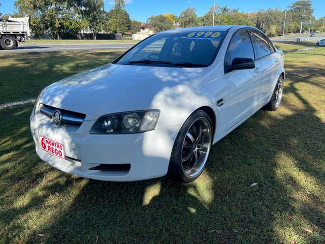 Used Holden Commodore VE MY09 Omega Clontarf, 2008 Holden Commodore VE MY09 Omega White 4 Speed Automatic Sedan