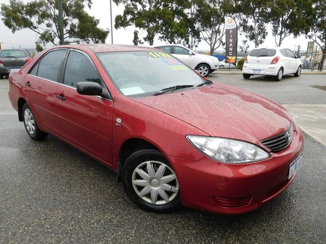 Used Toyota Camry ACV36R Altise Wangara, 2005 Toyota Camry ACV36R Altise Red 4 Speed Automatic Sedan
