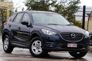 2016 Mazda CX-5 KE1072 Maxx SKYACTIV-MT FWD Dc Blue 6 Speed Manual Wagon.