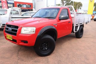 2008 Ford Ranger PJ 07 Upgrade XL (4x2) Red 5 Speed Manual Super Cab Chassis.
