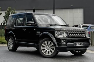 2016 Land Rover Discovery Series 4 L319 MY16.5 TDV6 Black 8 Speed Sports Automatic Wagon.
