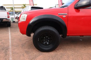 2008 Ford Ranger PJ 07 Upgrade XL (4x2) Red 5 Speed Manual Super Cab Chassis