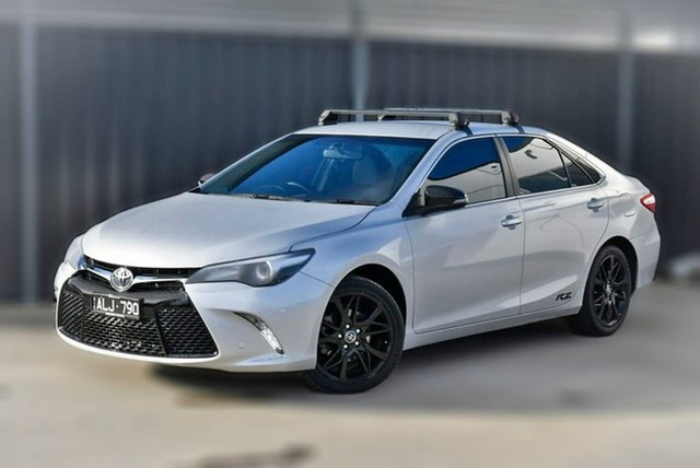 Used Toyota Camry ASV50R RZ Pakenham, 2017 Toyota Camry ASV50R RZ Silver 6 Speed Sports Automatic Sedan