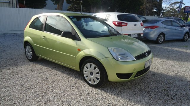 Used Ford Fiesta WP LX Seaford, 2005 Ford Fiesta WP LX Green 4 Speed Automatic Hatchback