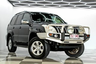 2007 Toyota Landcruiser Prado KDJ120R 07 Upgrade GXL (4x4) Black 5 Speed Automatic Wagon.