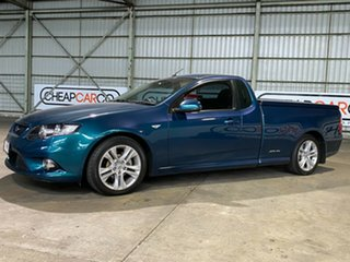 2010 Ford Falcon FG XR6 Ute Super Cab Green 5 Speed Sports Automatic Utility.