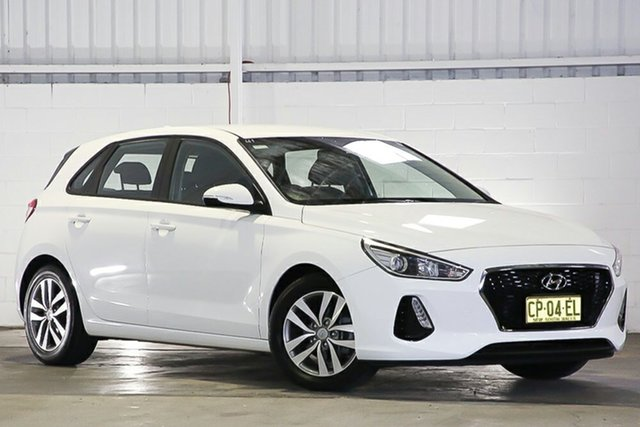 Used Hyundai i30 PD MY18 Active Erina, 2018 Hyundai i30 PD MY18 Active White 6 Speed Sports Automatic Hatchback