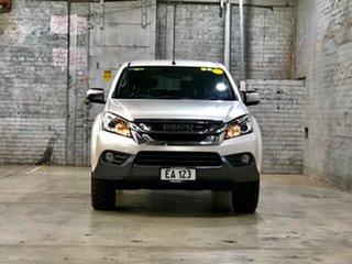 2014 Isuzu MU-X MY14 LS-M Rev-Tronic 4x2 White 5 Speed Sports Automatic Wagon.