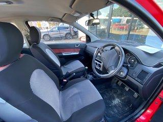 2005 Hyundai Getz TB MY06 SXI Red 5 Speed Manual Hatchback