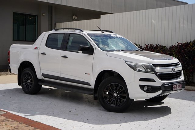 Used Holden Colorado RG MY17 Z71 Pickup Crew Cab Cairns, 2016 Holden Colorado RG MY17 Z71 Pickup Crew Cab White 6 Speed Manual Utility