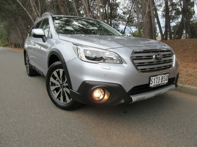 Used Subaru Outback B6A MY17 2.5i CVT AWD Premium Reynella, 2017 Subaru Outback B6A MY17 2.5i CVT AWD Premium Silver 6 Speed Constant Variable Wagon