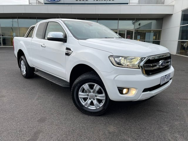 Used Ford Ranger PX MkIII 2019.00MY XLT Essendon Fields, 2019 Ford Ranger PX MkIII 2019.00MY XLT White 6 Speed Sports Automatic Double Cab Pick Up