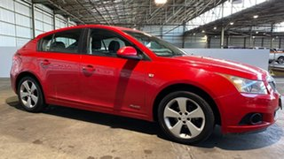 2012 Holden Cruze JH Series II MY13 Equipe Red 6 Speed Sports Automatic Hatchback
