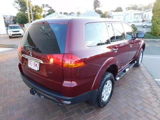 2012 Mitsubishi Challenger PB (KG) MY13 2WD Red 5 Speed Sports Automatic Wagon
