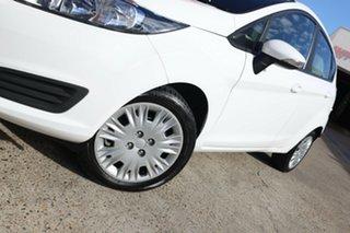 2014 Ford Fiesta WZ Ambiente White 6 Speed Automatic Hatchback.