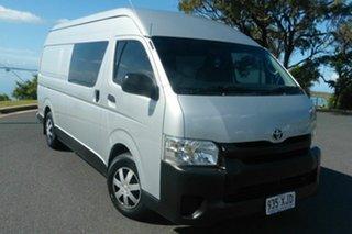 2014 Toyota HiAce KDH221R MY14 Super LWB Grey 4 Speed Automatic Van.
