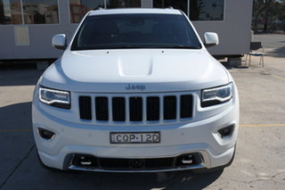 2013 Jeep Grand Cherokee WK MY2013 Overland White 5 Speed Sports Automatic Wagon.