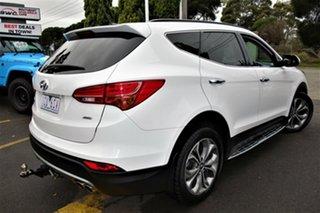 2014 Hyundai Santa Fe DM2 MY15 Highlander White 6 Speed Sports Automatic Wagon.