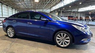 2010 Hyundai i45 YF Premium Blue 6 Speed Sports Automatic Sedan.