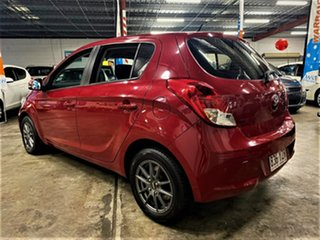 2014 Hyundai i20 PB MY14 Active Cherry Cocktail Red 4 Speed Automatic Hatchback