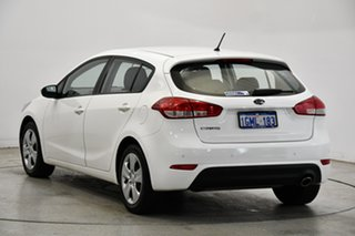 2018 Kia Cerato YD MY18 S Clear White 6 Speed Sports Automatic Hatchback