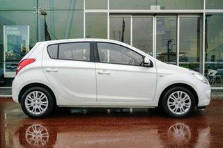 2011 Hyundai i20 PB MY12 Active White 4 Speed Automatic Hatchback.