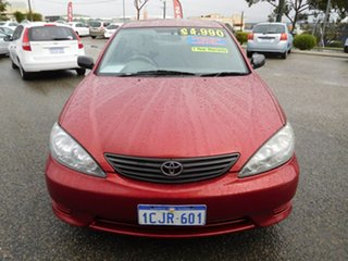 2005 Toyota Camry ACV36R Altise Red 4 Speed Automatic Sedan.