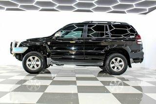 2007 Toyota Landcruiser Prado KDJ120R 07 Upgrade GXL (4x4) Black 5 Speed Automatic Wagon