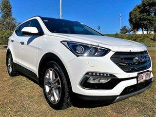 2018 Hyundai Santa Fe DM5 MY18 Highlander White Crystal 6 Speed Sports Automatic Wagon.