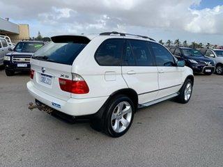 2005 BMW X5 E53 3.0D White 6 Speed Automatic Wagon