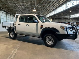 2011 Ford Ranger PK XL Crew Cab White 5 Speed Automatic Utility.