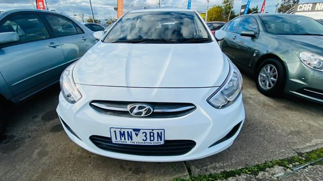 Used Hyundai Accent RB3 MY16 Active Maidstone, 2016 Hyundai Accent RB3 MY16 Active 6 Speed Constant Variable Hatchback