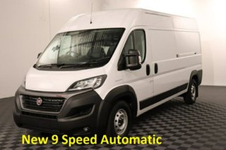 Fiat Ducato Series 7 Mid Roof LWB White 9 speed Automatic Van.
