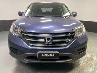 2012 Honda CR-V RM VTi Blue 6 Speed Manual Wagon.